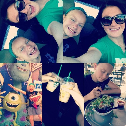 Sister Day ❤😋👯 I love you Summer :) #Movies #StarBucks #Chipotle #Gingers #Sister