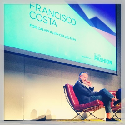 A candid conversation with Francisco Costa and SCAD students. (via .@bevansburg (Andrew Bevan) 's Instagram photos | Webstagram - the best Instagram viewer)