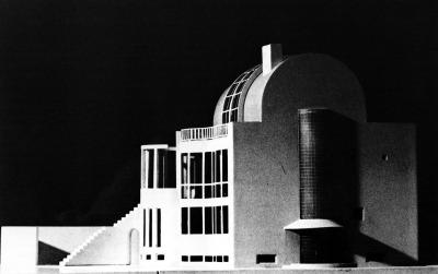 #architecture, #hans_hollein, #haus_molag, #vienna, #austria, #model