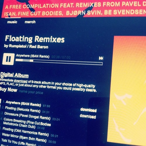 Floating Remixes out today #bandcamp #nameyourprice #greenpeace #arctic @beastierespond @besvendsen @finecutbodies @sekuoiadk @paveldovgal http://rumprecordings.bandcamp.com/album/floating-remixes