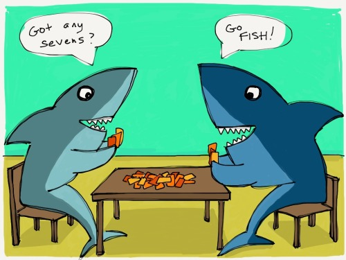 Shark Go-Fish!