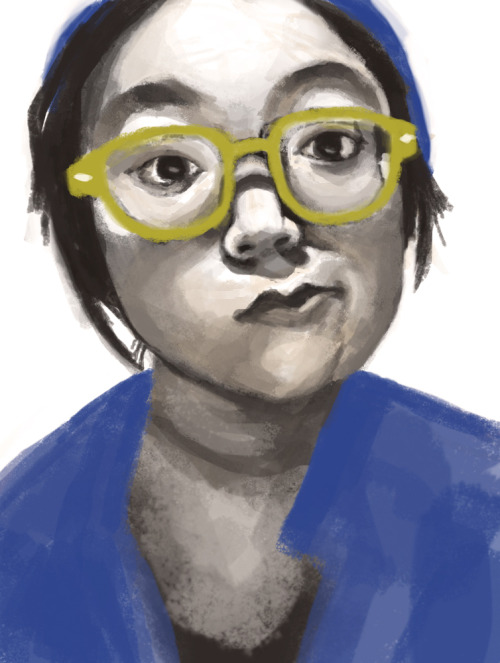 deersu:  40 min study of my dumb face