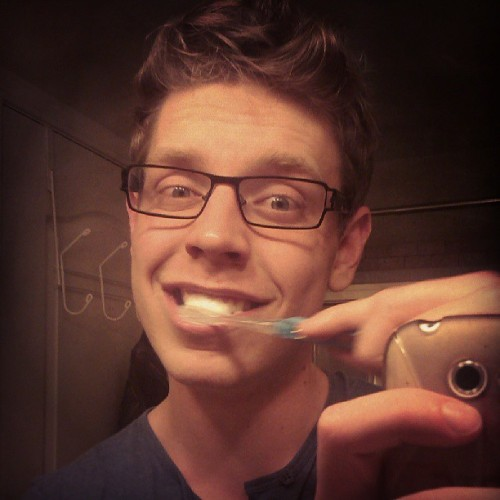 I take selfies while brushing my teeth. Sue me. #selfies #myface