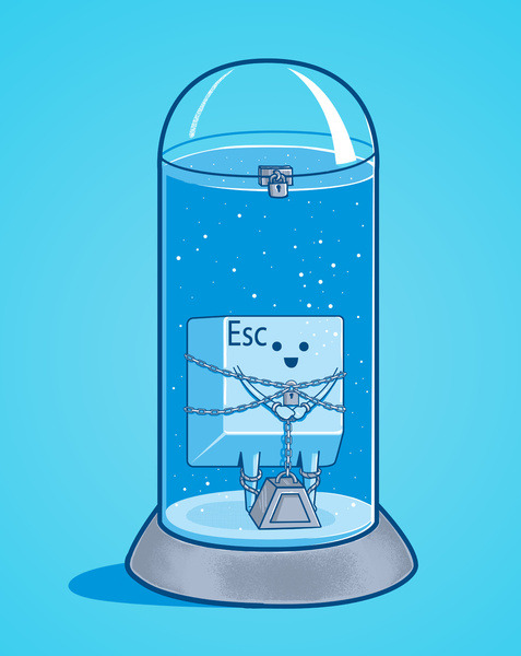- The Escape Artist - Up For Scoring on Threadless