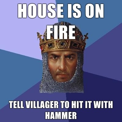 Some things in Age of Empires always bothered me…