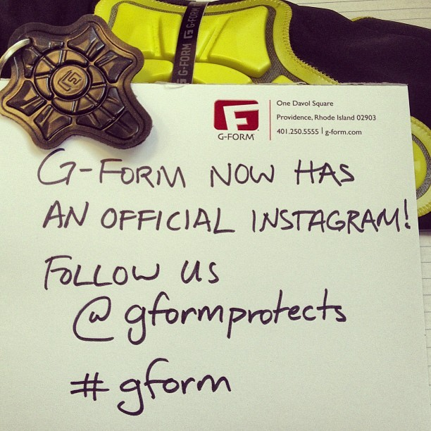 #gform got Instagram! Follow our official page at @gformprotects.