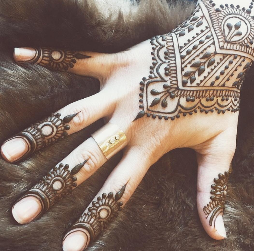 Татуировки на пальцах 91