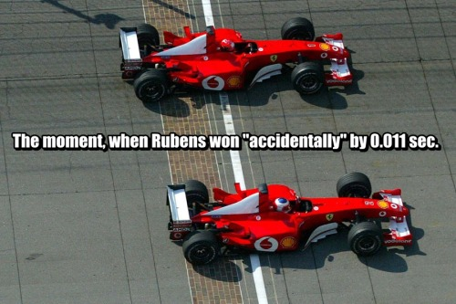 Not an accident, Schumacher did it on purpose.