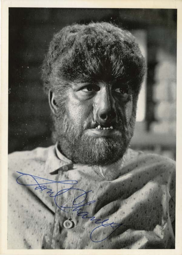 ronaldcmerchant:  the Wolfman himself,Lon Chaney Jr.,in his PJ's.
