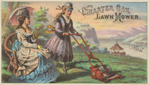Lawn-care porn of by-gone days.