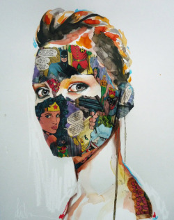 Painted Pulp Papier by Sandra Chevrier / posted by ianbrooks.me