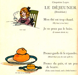 adelphe:  Le Dejeuner My Very First Little French Book c1911
