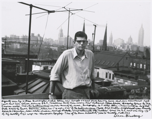 Allen Ginsberg's photography, like his poetry, is spontaneous, daring, and insouciant.