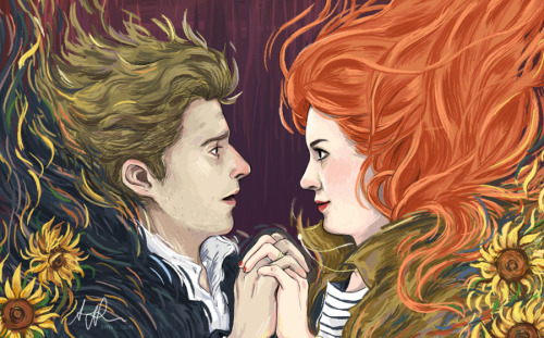 notamyliu:  Preview of my submission to the Doctor Who Fanbook!The full piece will be posted sometime in July. Also posted on deviantART.