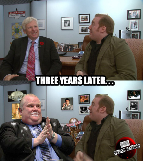 In retrospect things did seem a bit different at Rob Ford's City Hall.