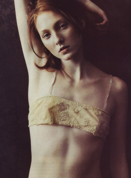 for-redheads:  Maggie Rizer by Juliana Sohn 1998