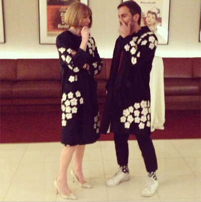 (via Anna Wintour And Marc Jacobs Wore The Same Coat To The Great Gatsby)