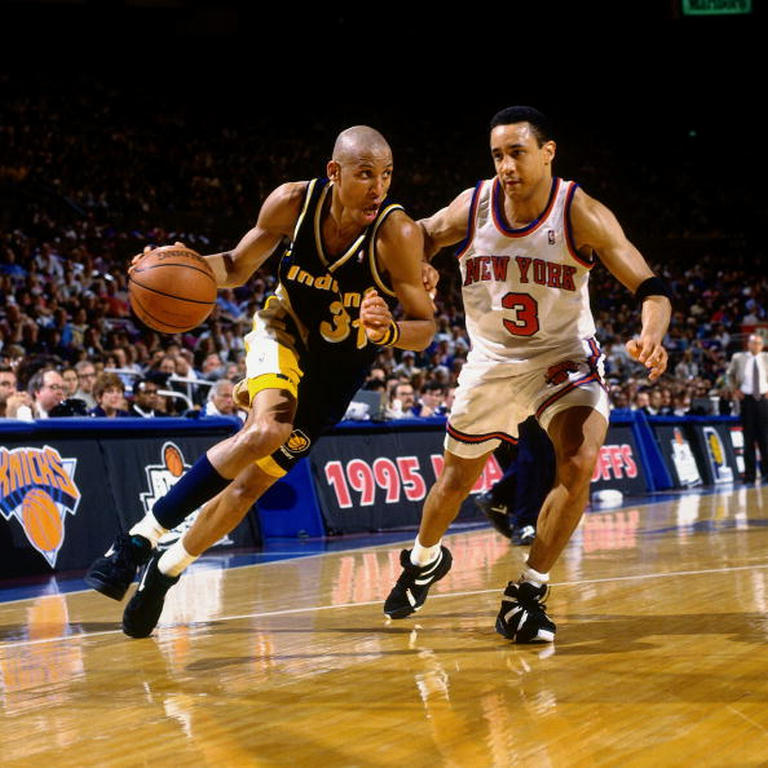 upnorthtrips:  The time Reggie Miller dropped 8 points in 11 seconds to lead the Pacers over the Knicks..yeah, that happened 18 years ago today.