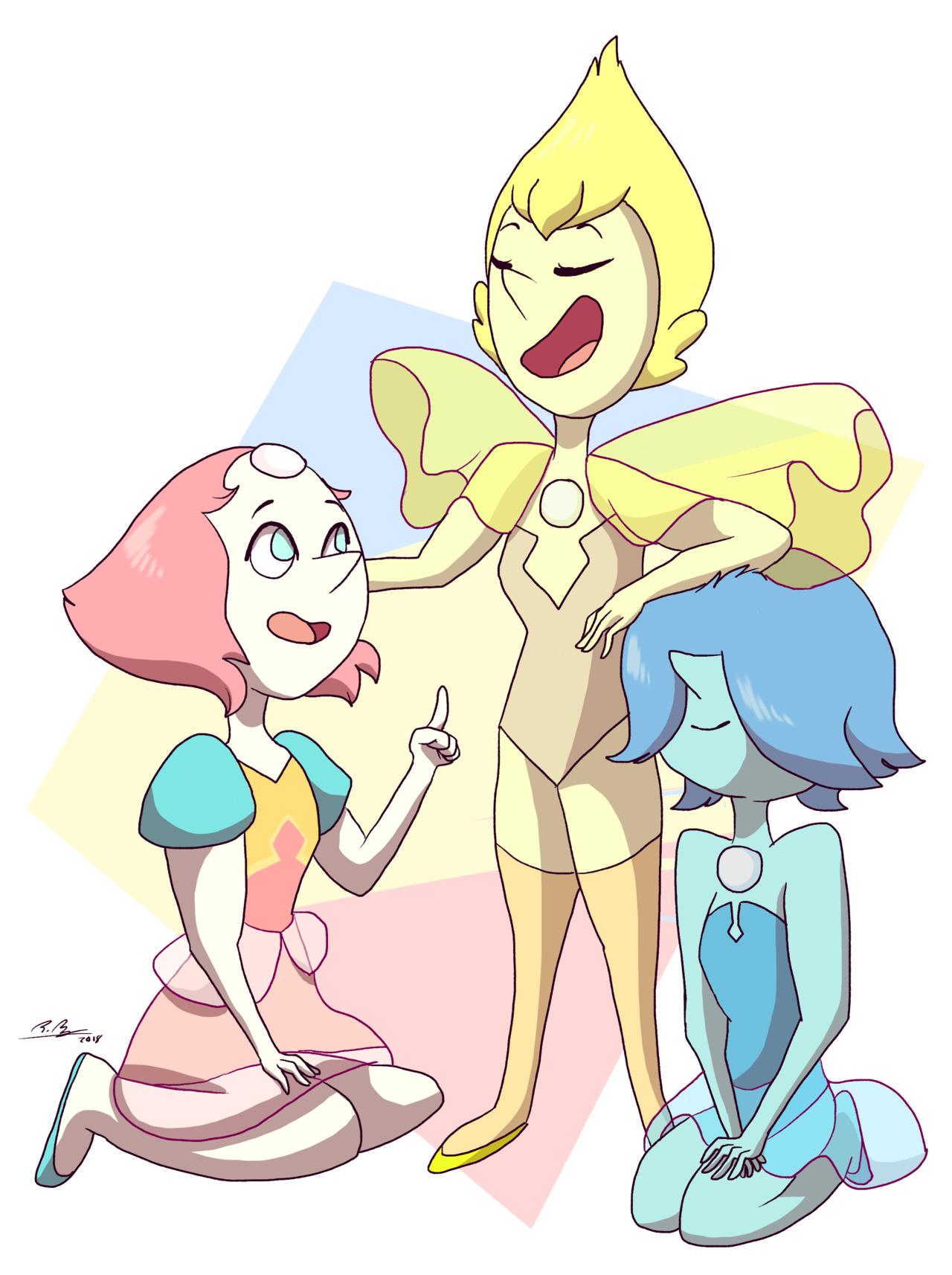 listen to me the diamonds' pearls were friends and you can't convince me otherwise