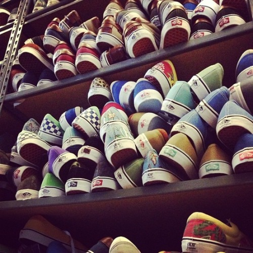 urbanoutfitters:  Off the wall, literally.
