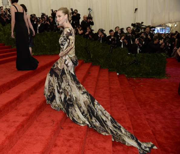 Amanda Seyfried in Givenchy at the Costume Institute Gala in NYC, May 6th