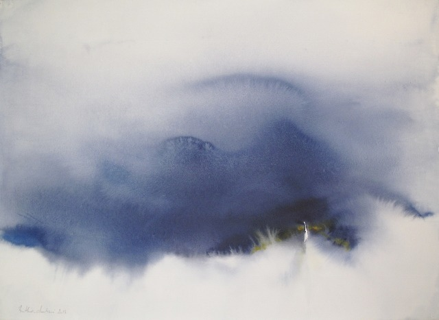 2headedsnake:  Muriel Buthier 'In the Silent', 2013 watercolors