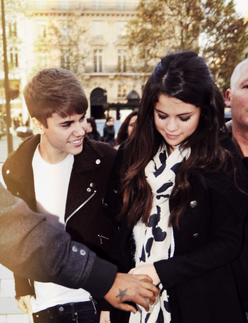 jelena-world:  The way he's looking at her  she will be married!Jelena forever
