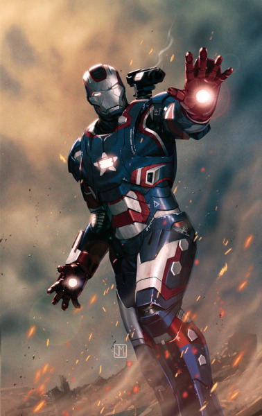 Iron Patriot - by Jorge Molina  Artist's Website