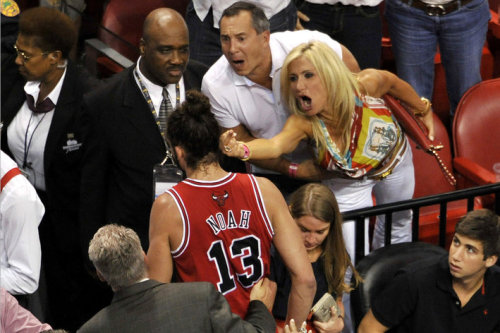 Meet Filomena Tobias, the Heat fan who flipped off Joakim Noah (and maybe killed her fourth husband)