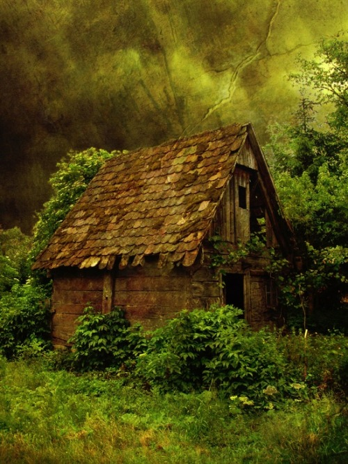Abandoned Cottage, Croatia photo via aurlie