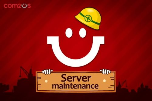 [Server Maintenance] We will be doing our server maintenance on May 20th, 2013 from 10:00 AM - 15:00 PM (PDT). Our global website and some games (including Golf Star and My Restaurant) will be unplayable during this time. We apologize for the inconvenience this may cause.