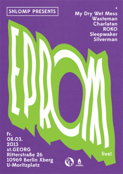 Shlomp presents EPROM / Poster / 2013