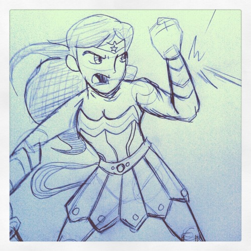 Morning Sketchythingy: Wonder Woman