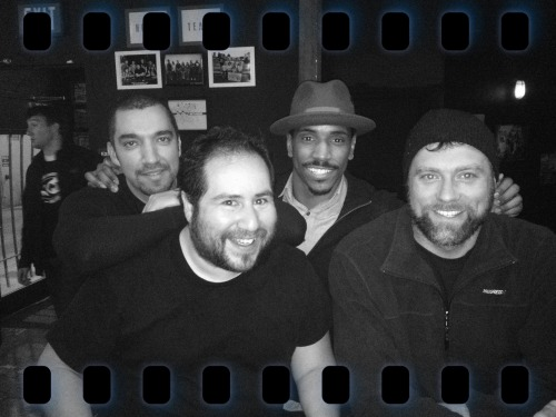 David Saenz, @EdGalvez @LeonardRobinson & @JohnKyleGrady at M.I's @WestsideComedy Theater