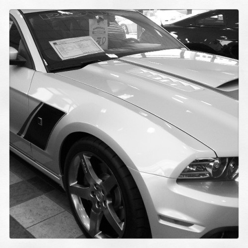 Check it out! My dream car! Lol #ford #mustang #Roush #stage3
