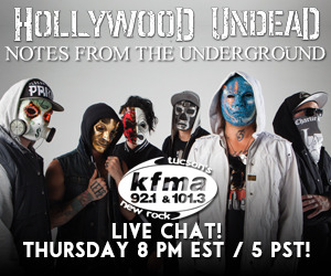 Hollywood Undead is going to be LIVE on Stickam tonight at 5PM (PST)/ 8PM (EST)! Don't miss this opportunity to chat with the guys from band! http://www.stickam.com/hollywoodundead