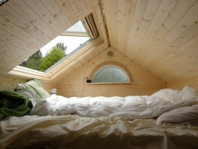 gregmelander:  OPEN I want to sleep in this room on a cloudless night and look at the stars.  Amazing.