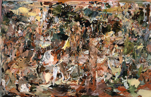Cecily Brown - The Adoration of the Hermit, 2008 (oil on linen)