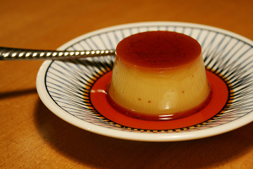foodescapades:  Custard Pudding