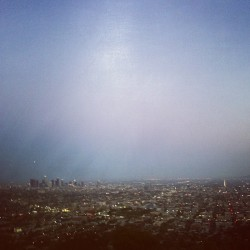 le-bruit-noire:  LA!  (at Griffith Observatory)