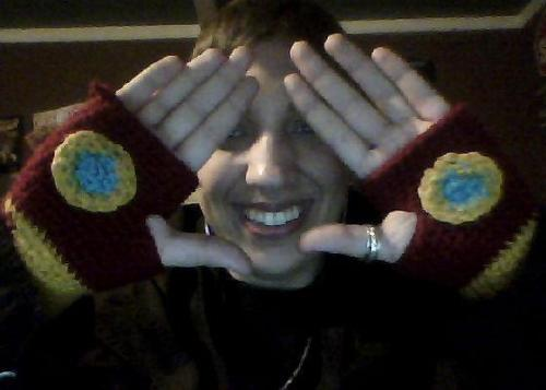 BLISS MADE ME IRON MAN GLOVES FOR CHRISTMAS 8D