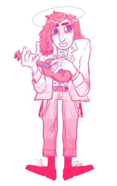 empartridge:  ryan told me I should post this terrifying drawing of tiny tim, so here we are
