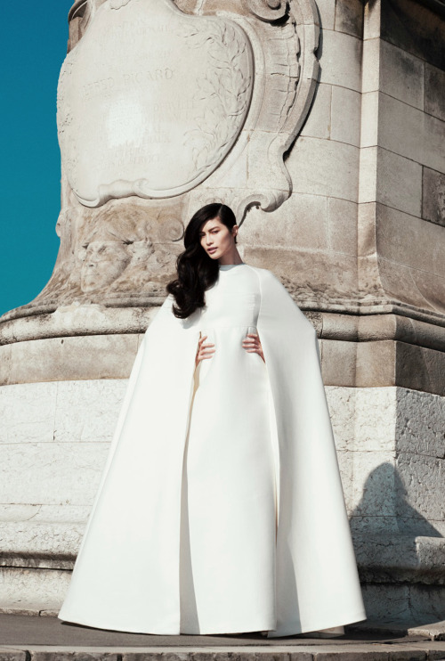 virare:  The Best Of Couture Sui He by Katja Rahlwes for Harper's Bazaar US May 2013