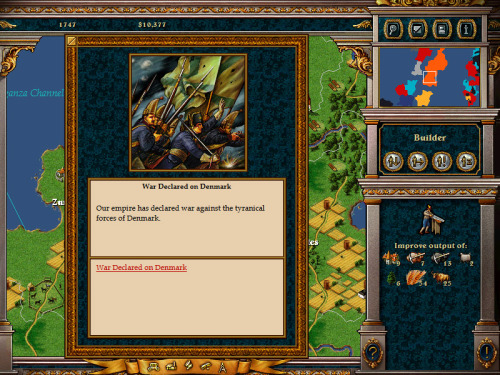 See how the strategy game Imperialism II captures the spirit of humanitarian intervention and Responsibility to Protect!