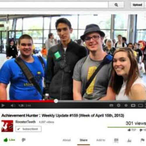 I'm in this weeks AHWU
