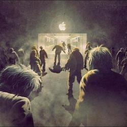 theinevitablezombieapocalypse:  Apple Zombies