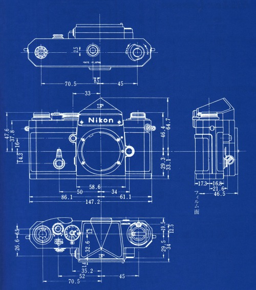 fromand:  nikon f blueprint
