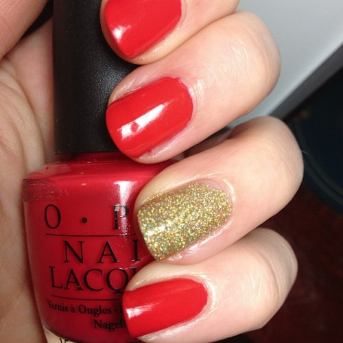 OPI Cajun Shrimp + ChG Ulta-Mate Holiday