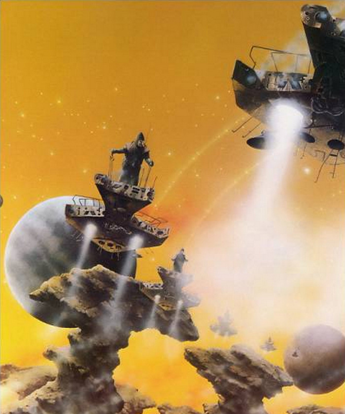 70s Sci Fi Art Chris Foss: 70s Sci-Fi Art: Yellow. Chris Foss, Tony Roberts, Dune