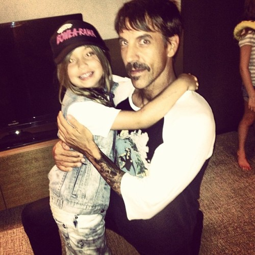 Anthony Kiedis in Australia on January 17th, 2013